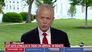 Peter Navarro says Pelosi lost him on stimulus for illegals