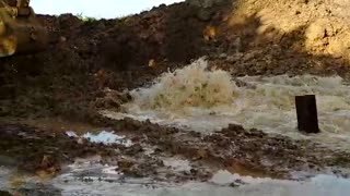 Daño en tubería deja sin agua a la Zona Norte de Cartagena