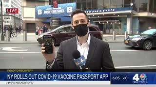 NY Rolls Out COVID-19 Vaccine Passport App? Stores Tests And Vaccine Status!