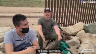 Illegals Thank Biden for Opening Up the Borders
