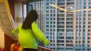 China Women Stage Dance Off During Coronavirus Outbreak