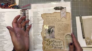 Let's Bible Journal Zephaniah 2 (from Lovely Lavender Wishes)