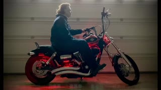 Michael Myers On A Harley