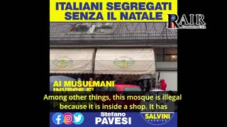 Stefano Pavesi slams illegal mosque operating in Italy