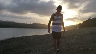 Sunset In Dominican Republic