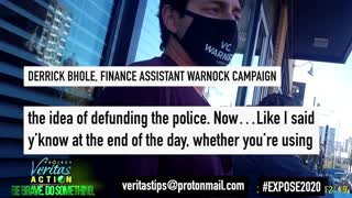 "Finance Assistant Reveals Raphael Warnock HIDES Progressive Platforms Like ""Defunding The Police"""
