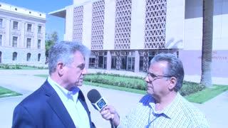 Arizona Senate Majority Whip Sonny Borrelli Interview with Host George Nemeh MAAP Media.