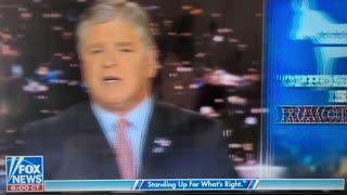 Hannity on Racist Racist Racist. Biden's agenda