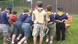 Boy Scout Troop Number One celebrates 100th anniversary