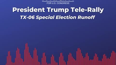 President Trump Tele-Rally with Susan Wright