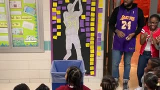 School honors Kobe Bryant during 'Sports Day'