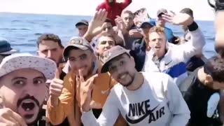 Migrants still flooding