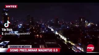 M 7.4 Earthquake Mexico