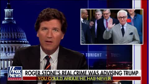 Tucker Carlson on Continued Political Persecution of American Patriot Roger Stone