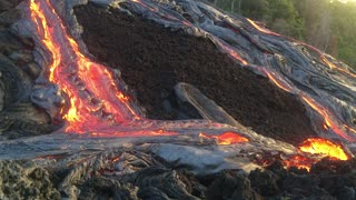 Hawaiian Lava at Sunrise