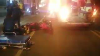 Fuerte accidente se registró en San Gil