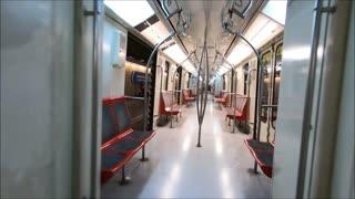Metro Pajaritos en Santiago, Chile