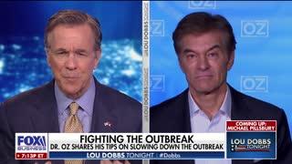 Dr. Oz discusses malaria drug hydroxychloroquine and its success against coronavirus