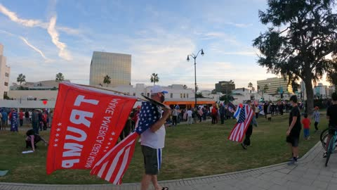HIGHLIGHTS OF BEVERLY HILLS RALLY FOR PRESIDENT DONALD TRUMP   MUSIC VIDEO