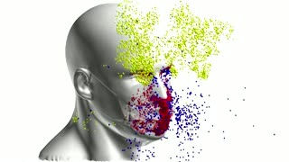 Supercomputer shows doubling masks offers little help preventing viral spread