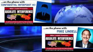 Mike Lindell gives his evidence of Absolute interference