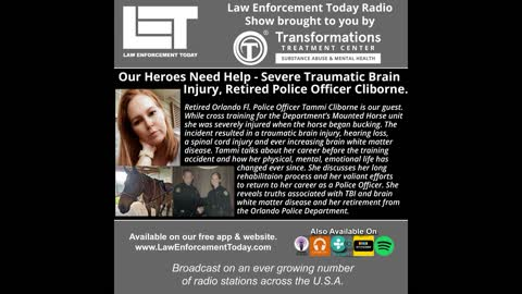 Our Heroes Need Help - Severe Traumatic Brain Injury, Retired Police Officer Cliborne.