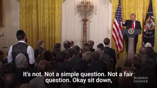 Trumps Longest Press Conference