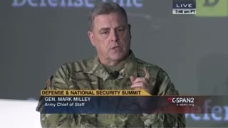 General Milley says China is NOT an enemy