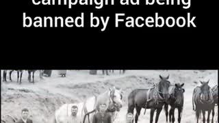 Trump Ad banned by Facebook