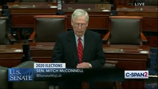 McConnell EXCORIATES Dems' Election Hypocrisy