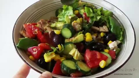 3 Easy Healthy Salad Recipes | Quick Healthy Dinner Or Lunch