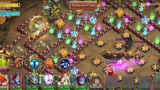 """Online game """"Castle Clash"""""""