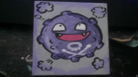 KOFFING SMALL PAINTING