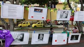 Plantón de mujeres en Bucaramanga 2