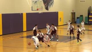 8th Grade Basketball 2014 - Tournament - Game 1 - Around the Horn