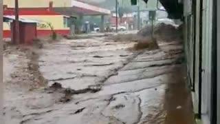 Inundaciones en Costa Rica Turrialba