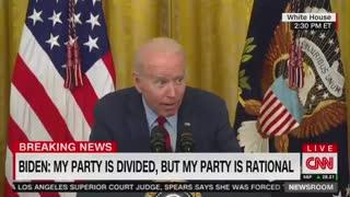 Creepy Joe Biden Aggressively Whispers