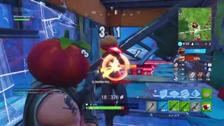 Getting distracted while playing Fortnite