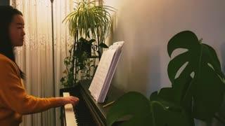 爱你到底 Love You Till the End 诗歌钢琴伴奏(Hymn Accompaniment Piano Cover) 歌词 WorshipTogether V012