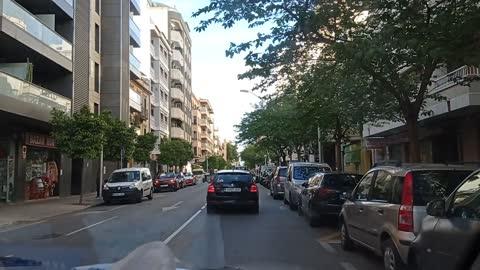 I love walk in the street of palma de mallorca - spain