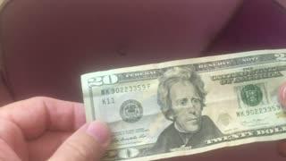 20 Dollar Bill Predicts Covid Masks