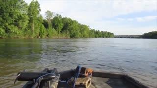Striper Fishing In Columbia South Carolina