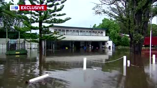 Heavy rain and floods batter Australia's east coast