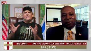 Take FiVe: Special Guest Bishop Leon Benjamin