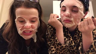 Hannah And Ashley Attempt To Crack Melania's Skincare Routine