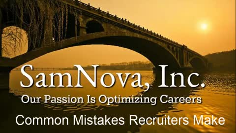 Optimize Your Career | 13 Biggest Mistakes by Recruiters