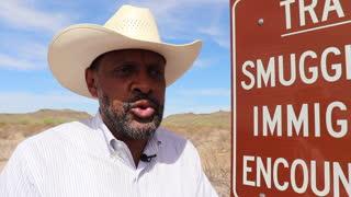 Georgia Gubernatorial Candidate Vernon Jones Border Visit