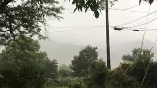 Scarily Close Lightning Strike