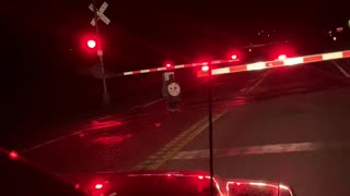 Odd Late Night Occurrence at the Train Tracks