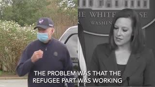 "Jen Psaki Still Denies Border Crisis After Biden Admitted The ""Crisis"""